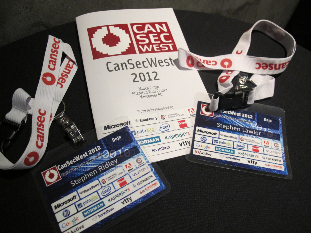 Bustication Everywhere: A CanSecWest 2012 Retrospective