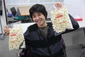 The Popcorn Bandit.