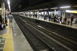 Tokyo subway...