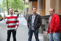 New Zealand badasses (Barnaby and Brett) ...and a South African ;-)