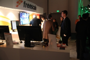 Freescale's booth